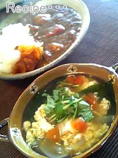 カレーとスープ☆