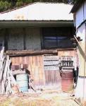 田舎 裏小屋