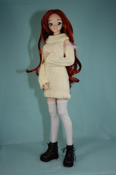 肩出しセーター