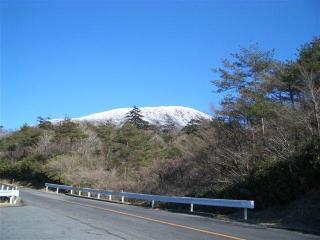 雪化粧した韓国岳 2007.1.29