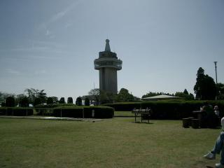 霧島市の城山公園 展望台