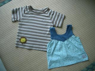 手作りの洋服 2007.7.16