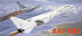 Airfix 1:72 BAC TSR.2