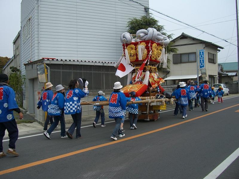 室本新田子供太鼓台 07 弐