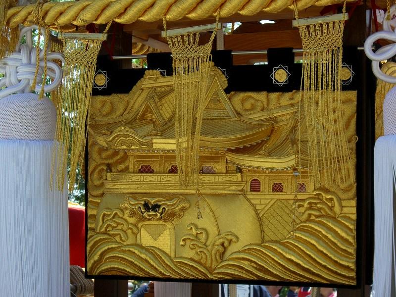 岡本八幡 飾り 四