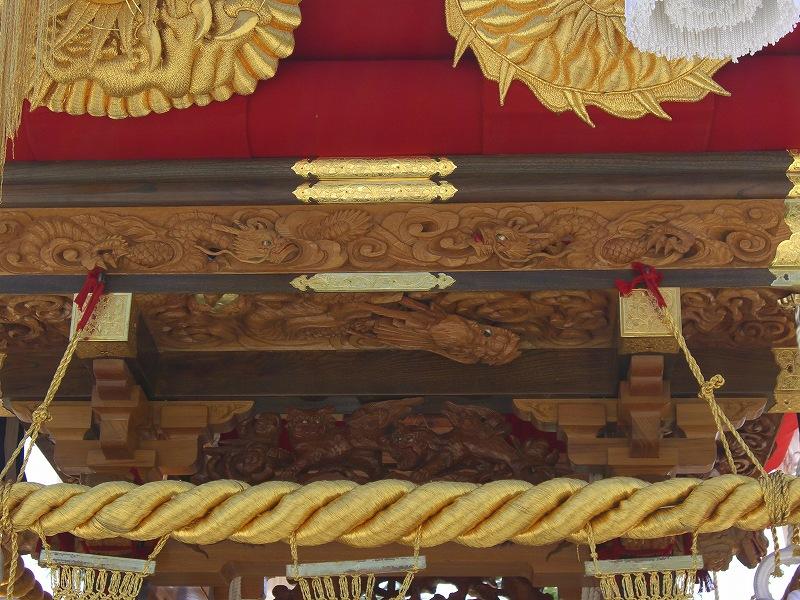 岡本八幡 飾り 伍