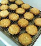 天然酵母のオートミールクッキー