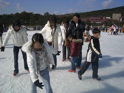 アイススケート②