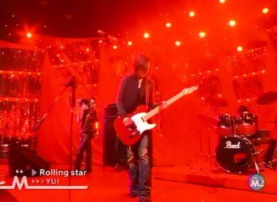 YUI ミュージックステーション 「Rolling star」