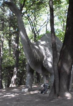 龍太朗と恐竜