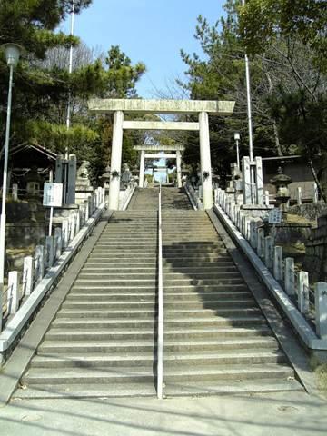 八剣神社の鳥居
