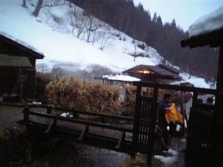 鶴の湯 露天