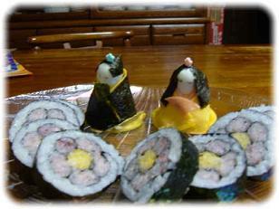 お寿司だよ~♪