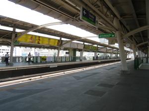 スカイトレイン駅