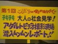 ガキの使い「チキチキ大人の社会見学!アダルトビデオ撮影現場潜入ムンムンレポート!!」