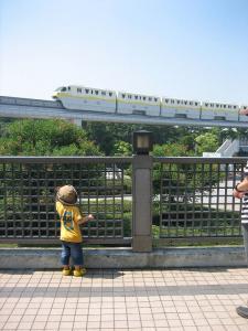 ねずみ電車!