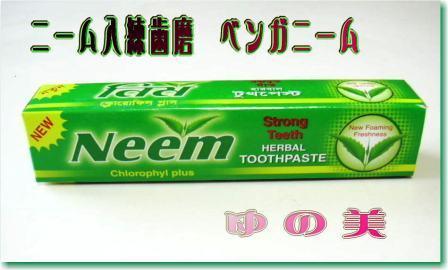 ニーム入練歯磨