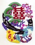 中国の切絵「剪紙」