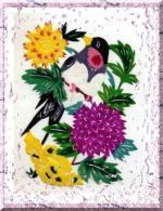 中国剪紙鳥