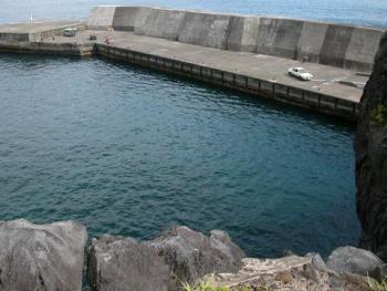 藍ヶ江港全景