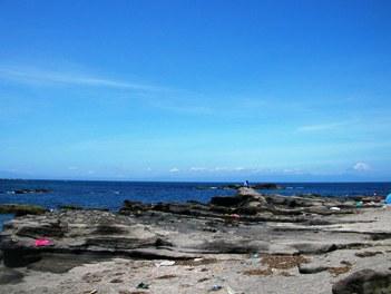 荒井浜(右側磯場)