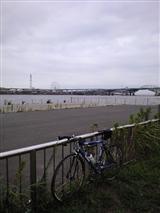 河口。すっかり涼しくなりました!