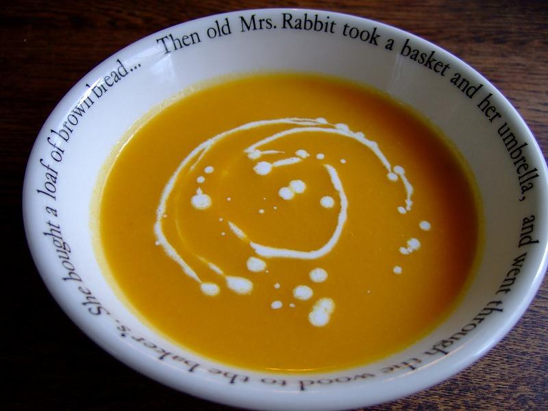 ■人参スープ 【2006年9月調理】
