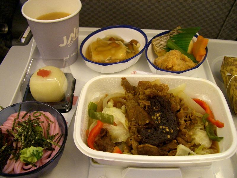 ■ JAL国際線 機内食