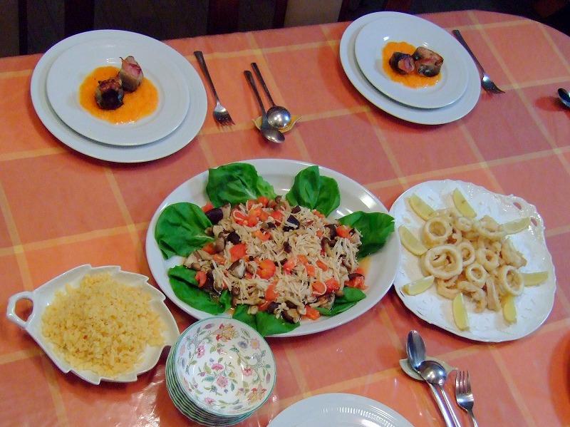 ■ 木村先生のお料理教室5 洋食 【2006年10月】