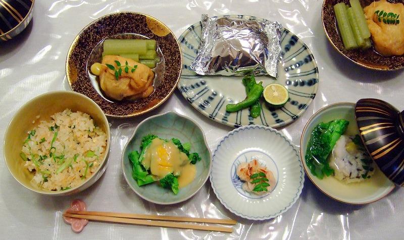 ■木村先生のお料理教室8 和食 【2007年1月】