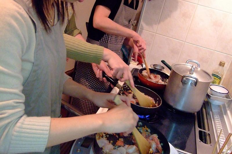 ■ 上野先生 イタリアンお料理教室 (第1回) 【2007年3月開催】