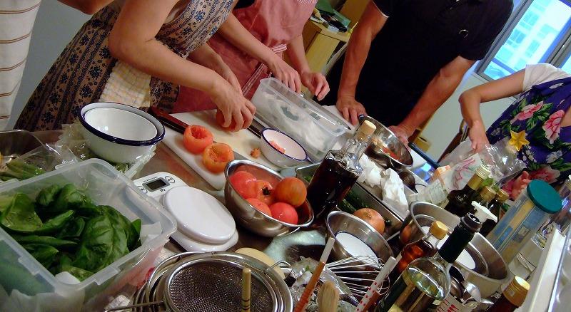 ■ 上野先生 イタリアン料理教室 【2007年8月】