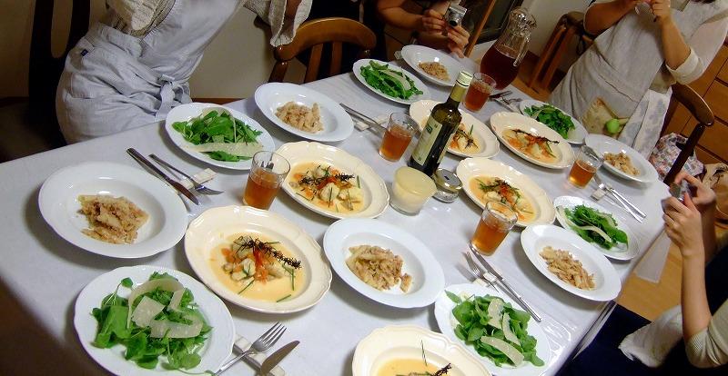 ■ 上野先生 イタリアン料理教室 【2007年10月】