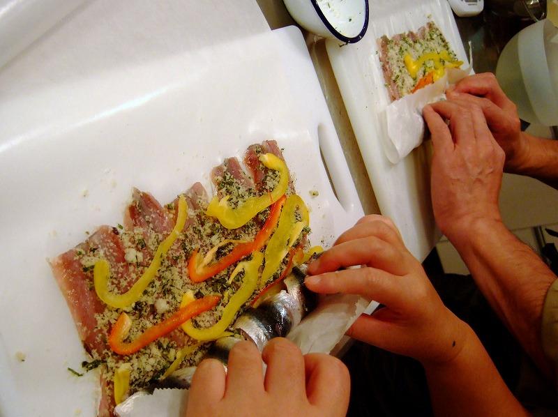 ■ 上野先生 イタリアンお料理教室 【2007年11月】