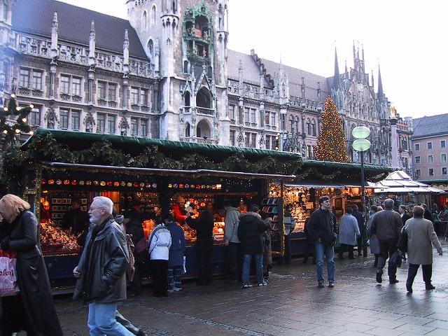 ■ミュンヘンのクリスマスバザール2 【2000年12月訪問】
