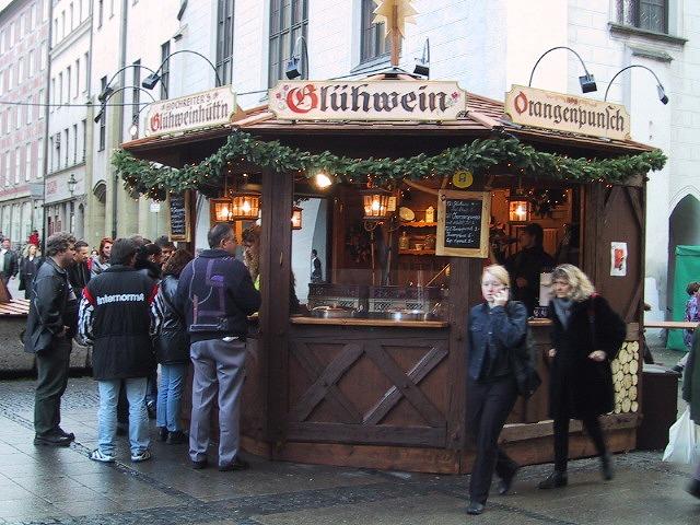 ■ミュンヘンのクリスマスバザール 【2000年12月訪問】