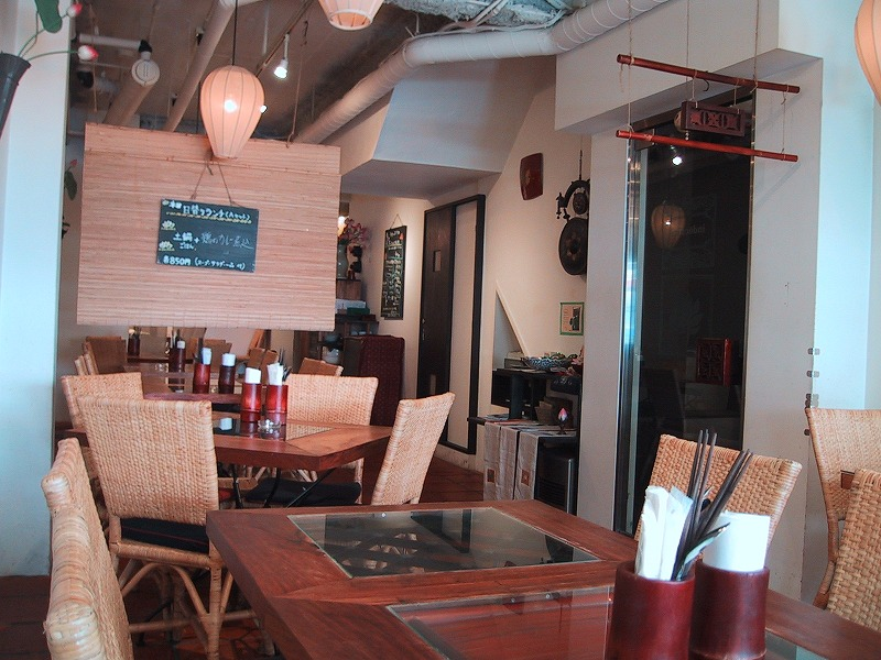 ■ カフェ・インドシナ ベトナム料理 大阪・西堀江 【2003年10月訪問】