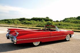 '59年 キャデラック コンバーチブル クーペ2
