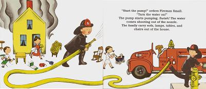 「The Little Fire Engine」一部