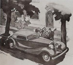 "1935 MERCEDES-BENZ Type-500K Cabriolet""C"" from catalogue"