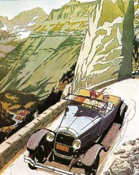 FORD Model-A 1928 from Vanity Fair