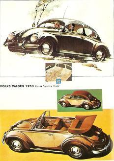 VOLKS WAGEN 1953 from Vanity Fair