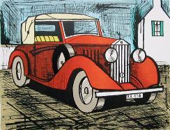 赤のロールスロイス1926