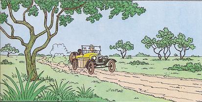 「タンタンのコンゴ探検」その2