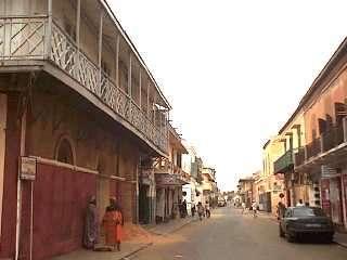 サンルイの街並み