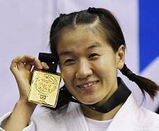 07世界柔道選手権で優勝した谷亮子