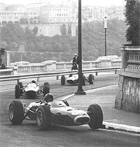 1965 monaco GP, his third victory at monaco
