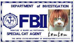 金魚きんととさま家『CAT連邦捜査官 NO.008 「tenten」』